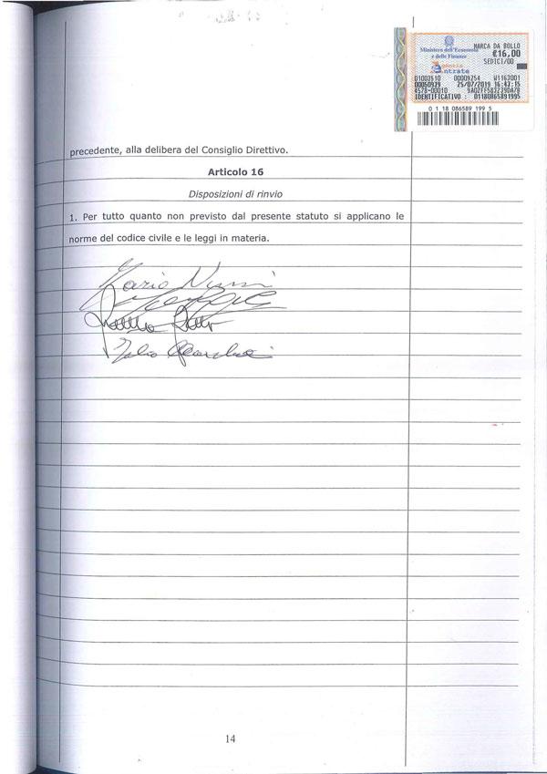 Statuto Associazione Italiana dei Professori e degli Studiosi di Diritto Tributario 14
