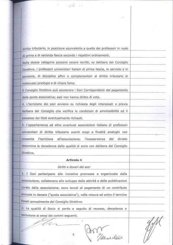 Statuto Associazione Italiana dei Professori e degli Studiosi di Diritto Tributario 4
