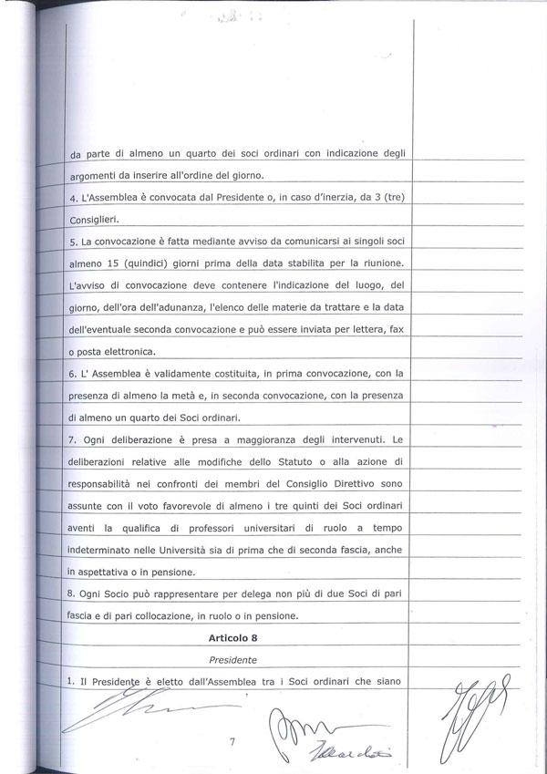 Statuto Associazione Italiana dei Professori e degli Studiosi di Diritto Tributario 7