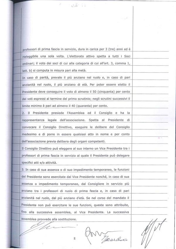 Statuto Associazione Italiana dei Professori e degli Studiosi di Diritto Tributario 8