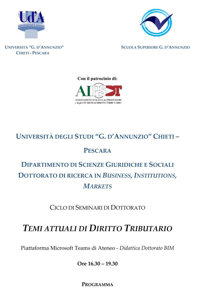 Locandina seminari dottorato def 1