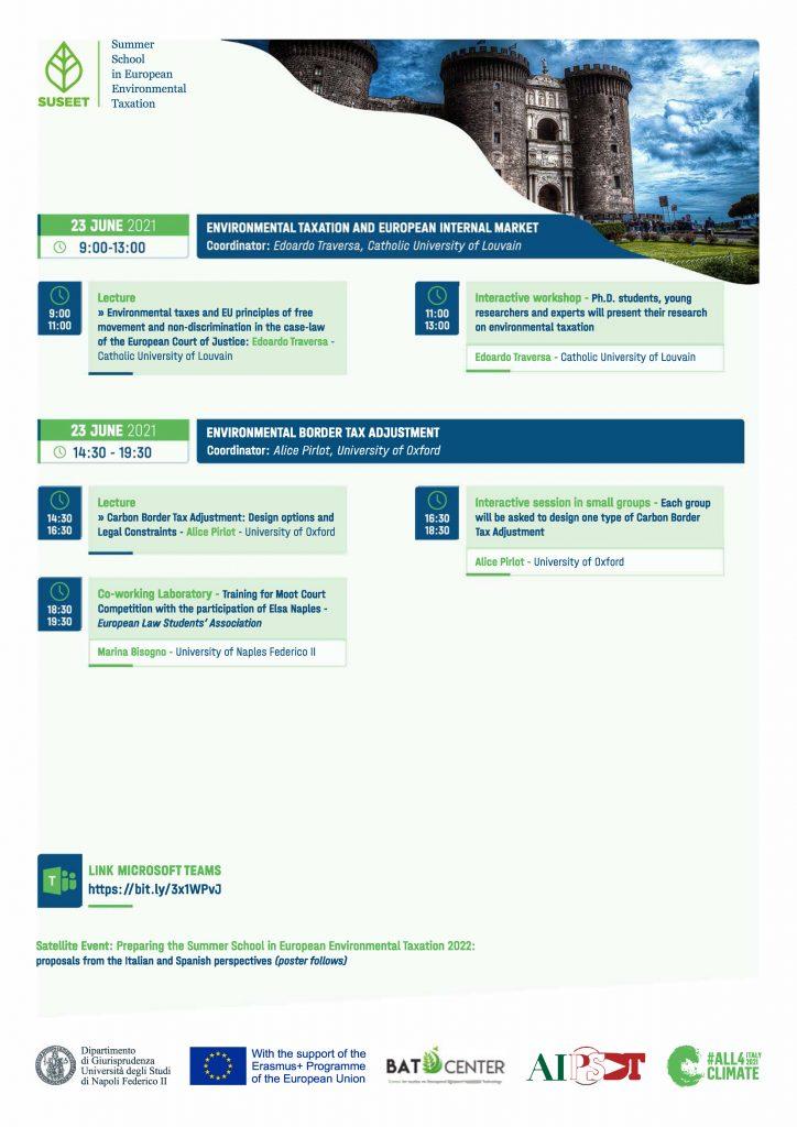 Summer School in European Environmental Taxation final version 4